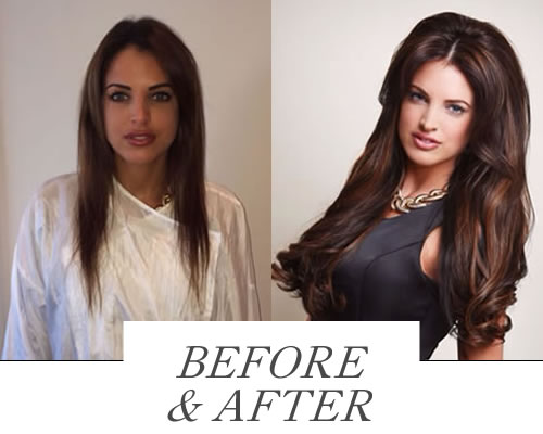 Before & After Hair Extensions  in Nottingham Collection Photo Gallery